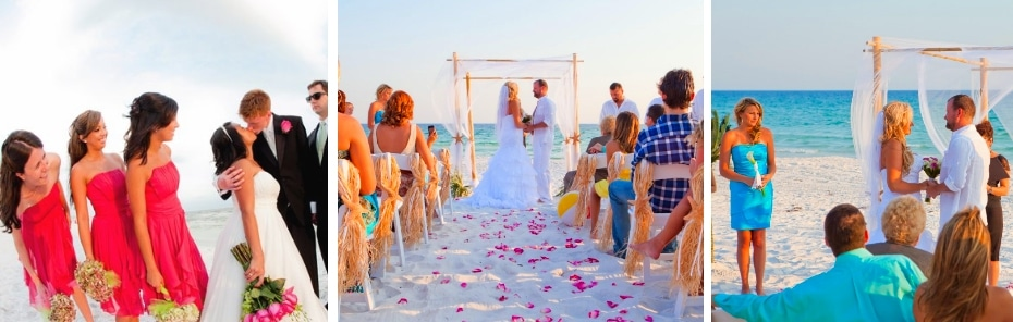 Simple Ideas for Your Beach Wedding